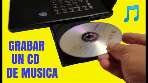 Como grabar un CD de musica en tu PC con windows   YouTube