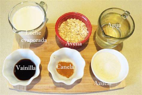 Cómo hacer Agua fresca de Avena, formidable bebida natural ...