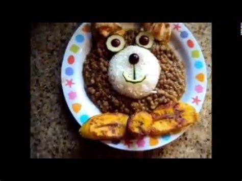 Como hacer almuerzo para niños fácil y creativo   opción ...