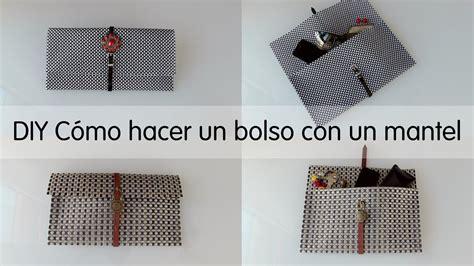 Cómo hacer bolso con mantel, hazlo tu mismo DIY   YouTube