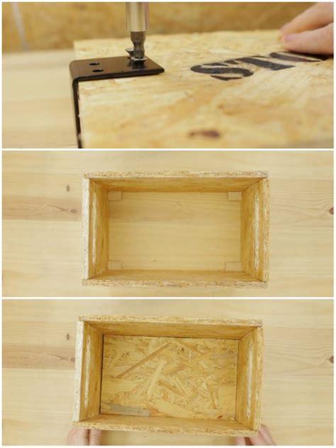 Cómo hacer cajas de madera con OSB   La cartera rota
