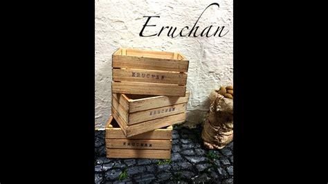 Como hacer Cajas de Madera miniatura para verduras y ...