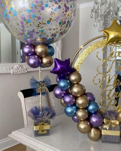 Cómo hacer centros de mesa y decoraciones con globos para ...