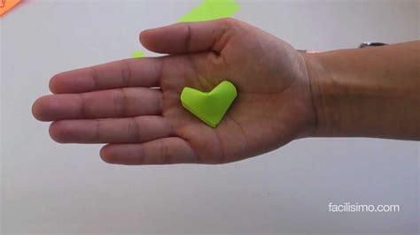 Cómo hacer corazones de papel | facilisimo.com   YouTube