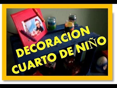 como hacer decoracion para cuarto de niño  reciclando ...