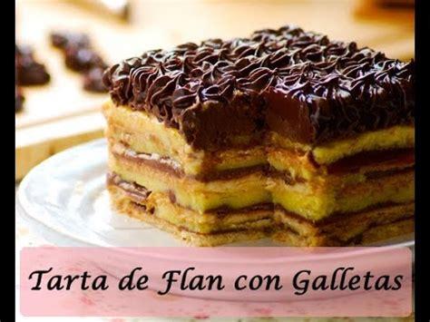 COMO HACER FLAN CON GALLETAS Y CHOCOLATE   YouTube