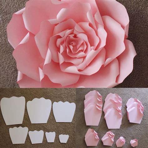 Cómo hacer flores de papel gigantes para eventos   Dale ...
