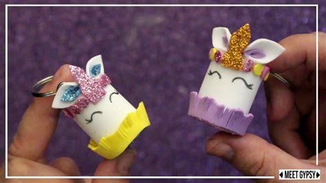Como hacer llaveros unicornio en goma eva    Unicornio ...