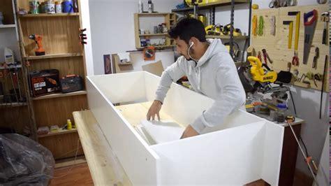 Como hacer Mueble para Cocina   Kitchen cabinet     YouTube