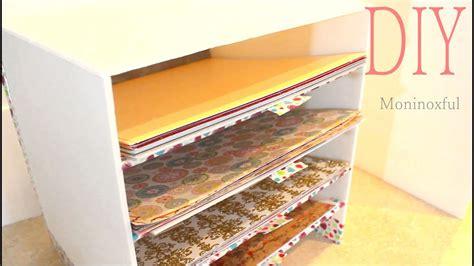 Cómo hacer Organizador para Papeles Decorativos   DIY ...