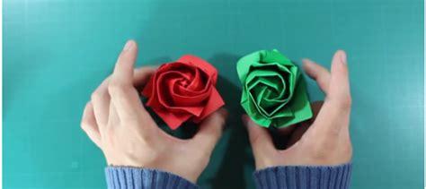 Cómo Hacer Rosa de Origami Paso a Paso【Fácil y Divertido】