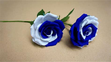 Cómo hacer Rosa   Flores de papel /hermosas Rosas de papel ...
