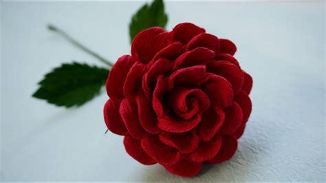 Cómo hacer Rosa  muy facil    Rosas con una tira de papel ...