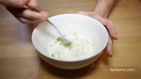Cómo hacer salsa de yogur | facilisimo.com   YouTube
