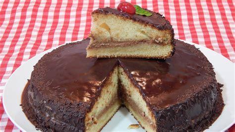 Cómo hacer tarta de bizcocho y chocolate o tarta Sacher ...