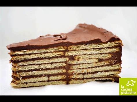 COMO HACER TARTA DE GALLETAS CON CHOCOLATE   YouTube