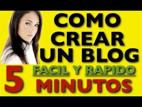 Como Hacer Un Blog   Como Crear Un Blog Facil Y Rapido ...