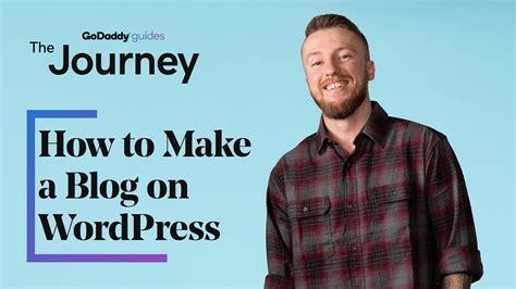 Cómo hacer un blog en WordPress   Mi Wordpress ...