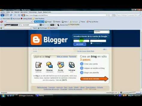 Como Hacer un Blog Optimizado en Blogger paso a paso parte ...