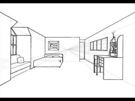 Como hacer un cuarto con punto de fuga   YouTube