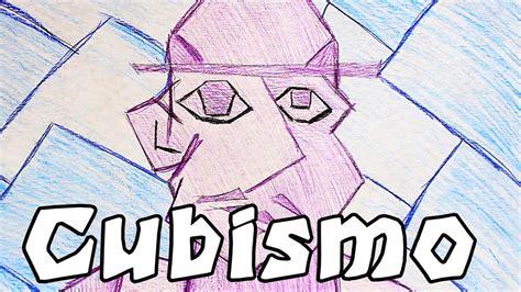 Cómo hacer un Dibujo Cubista   YouTube