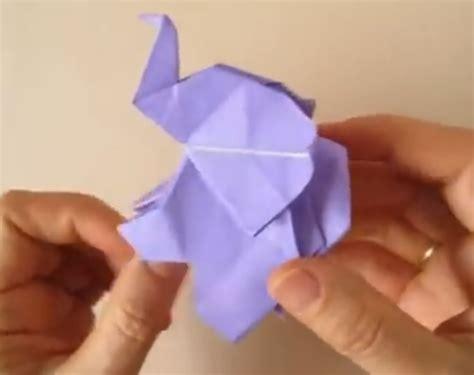 ¿Cómo hacer un elefante de origami facil?   Papiroflexía ...