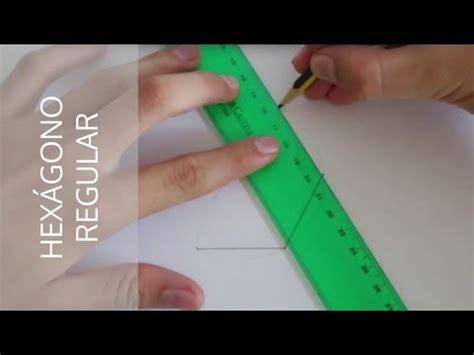¿Cómo hacer un hexágono regular a partir de un segmento A ...