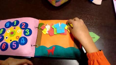 ¿Cómo hacer un libro sensorial para niños? ️ » Respuestas ...
