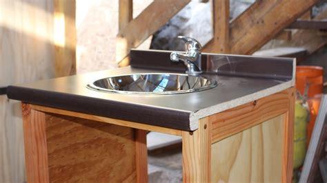 ¿Cómo hacer un mueble para el lavamanos?   Parte 1   YouTube