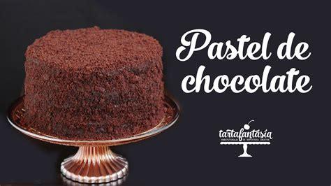 Cómo hacer un Pastel de Chocolate   YouTube
