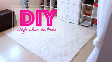 Como hacer una alfombra de pelo DIY Alfombra de Pelo ...