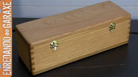Cómo hacer una caja con tapa y uniones de lazos rectos ...