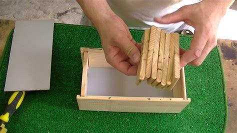 como hacer una caja de madera   YouTube