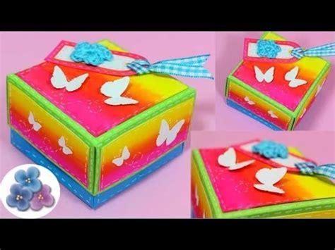 Como Hacer una Caja DIY *How to Boxes* Origami Hacer Cajas ...