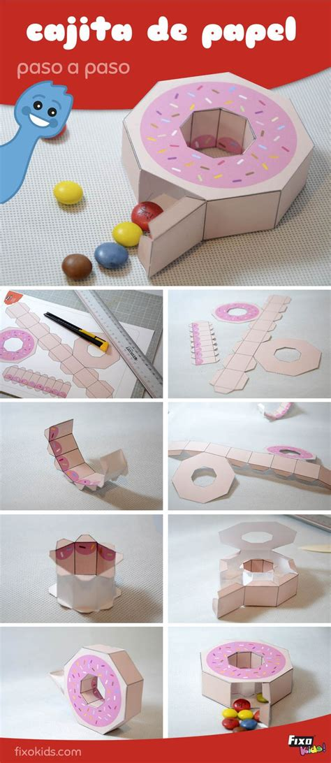 Cómo hacer una caja original para guardar golosinas o ...