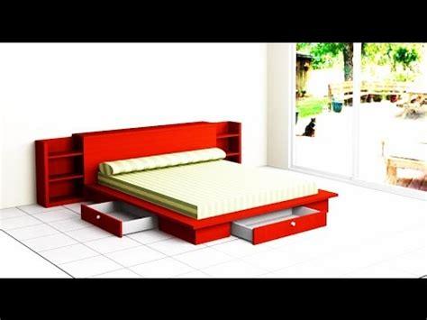 como hacer una cama de dormitorio   YouTube