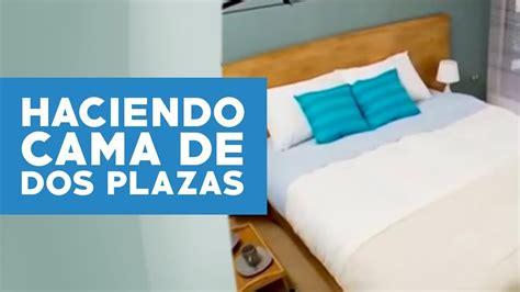 ¿Cómo hacer una cama de dos plazas?   YouTube