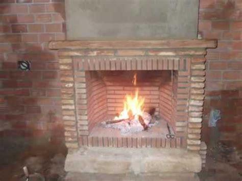 Como hacer una chimenea rústica de ladrillos   YouTube