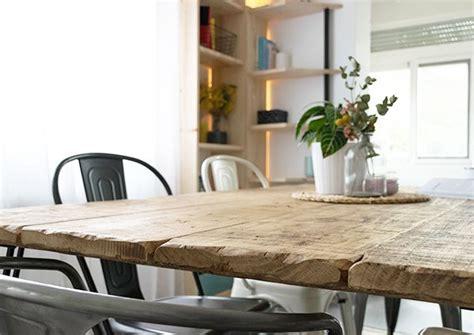 Cómo hacer una mesa de comedor rústica | Mesas de comedor ...
