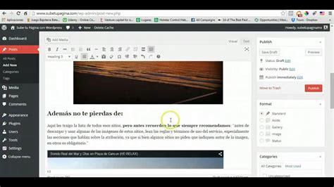 Como hacer una Revista Online con Wordpress   Hacer una ...