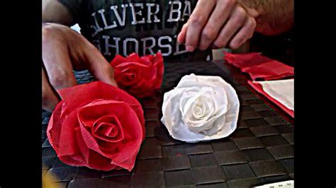 Cómo hacer una rosa de papel , muy facil   YouTube
