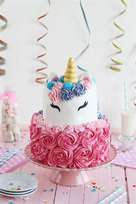 Cómo hacer una Tarta Unicornio   TartaFantasía