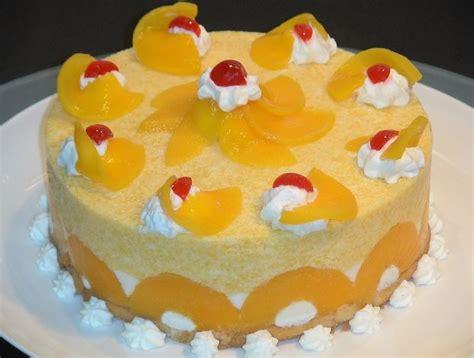 Como Hacer Una Torta Fria De Melocoton Casera!