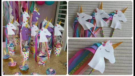Como hacer Unicornios de Foami para souvenirs de ...