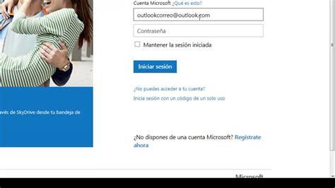 Cómo ingresar al correo Outlook.com   YouTube