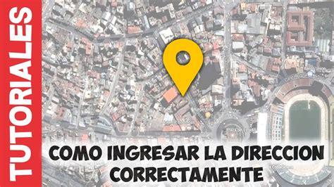 Como ingresar tu dirección y código postal en Bolivia ...