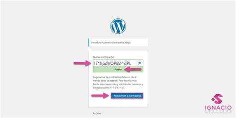 Cómo INICIAR SESIÓN en WordPress  [+TIPS]