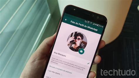 Como inserir fotos sem corte no perfil do WhatsApp | Redes ...