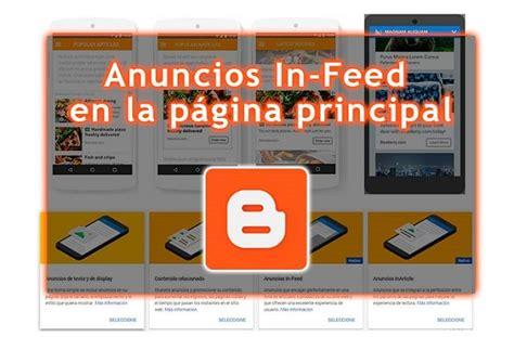 Cómo insertar anuncios In Feed en la página principal ...