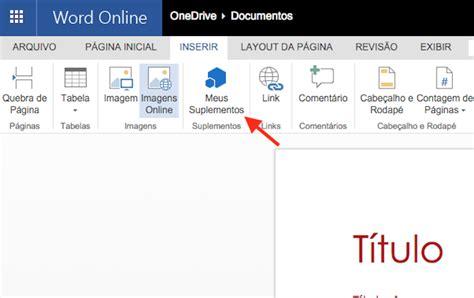 Como instalar e usar o tradutor de texto no Word Online ...